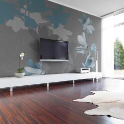 Fototapeta - Niebieskie magnolie