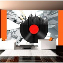 Fototapeta Heavy sounds of the city