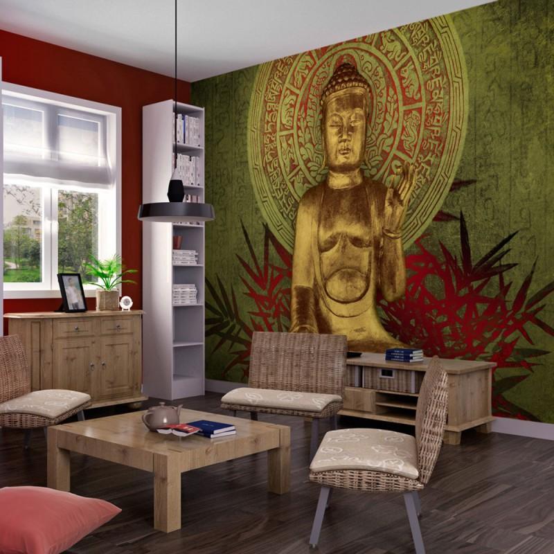 Fototapeta  Złoty Budda