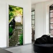 Fototapety na drzwi • nowe wnętrze bez remontu