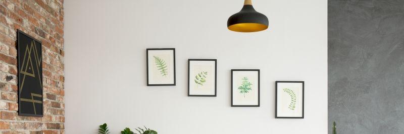 pomysły na dekorację ścian obraz